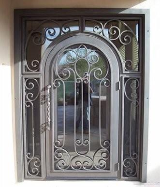 Puertas de forja luis morcillo sotillo de la adrada - Puertas forja exterior ...